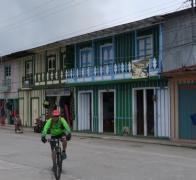 Cruising colourful cowboy towns. Colombia