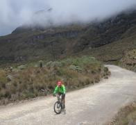 Cycle touring Colombia. We didnt expect this stunning alpine evironment