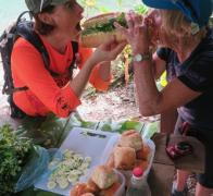 Biking and trekking in Fiji sure builds a mean appetite