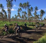 Laid back cycle touring Fiji style