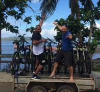 Who wants to go cycle touring in the Fiji Islands