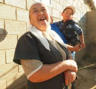 Our wonderful homestay hosts in Kyrgyzstan2