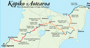 Kopiko Aotearoa - Cape to Cape Go Mandy, Bruce, Brian and Ash!!