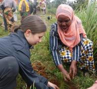 We have been planting trees with Mkuzi School in the Usambara Mountains since 2013