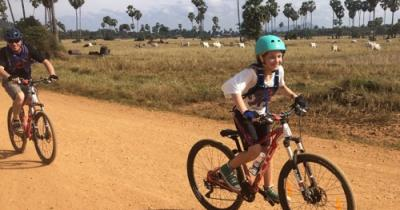 Cambodia Family Cycle Tour
