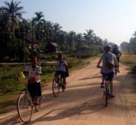 Blissful cycle touring Cambodia