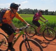 Every km there is something different to see. Cambodia cycle tour
