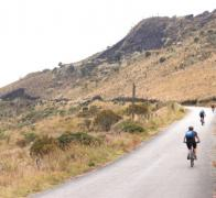 Colombia Cycle tour... making our way to the top of the pass