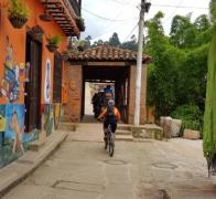 Colourful Colombia a cyclists paradise