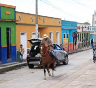 Colourful Colombia. There is a cowboy in every town