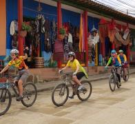Cruising colourful Colombian towns