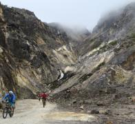 Cycling the stunning Colombian mountain tops above 4000m