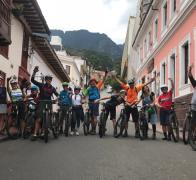 Lets cycle tour Colombia Bogota City