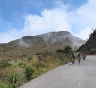 What goes up must come down when cycle touring in Colombia