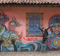 Yeah More amazing grafitti art in Bogota city