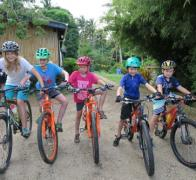 Lets go cycle touring in Fiji. Fiji family cycle tours