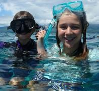 Snorkelling the stunning Rainbow Reef in Fiji