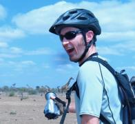 A magical moment cycle touring in Kenya Tanznaia