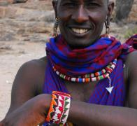 We have been camping with the same Maasai family in Kenya since 2003