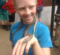 A wee stop off at Meserani Reptile Park in Tanzania
