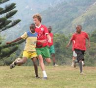 Escape Adventures v Tanzania football match