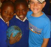 Making new friends in Tanzania