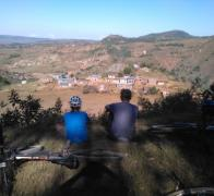 Sometimes it just awesome to sit down and watch life happen Biking in Madagascar