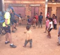 There is always time to play a bit of footie in Madagascar